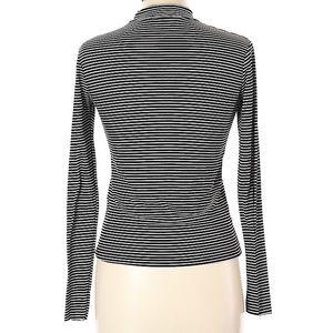 Zara Tops - Zara Trafaluc Long Sleeve T Shirt Mock High Neck